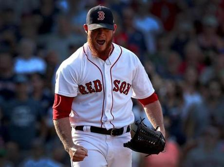 Craig Kimbrel struck out 126 of the 254 batters he faced in the regular season and finished with a 1.43 ERA.